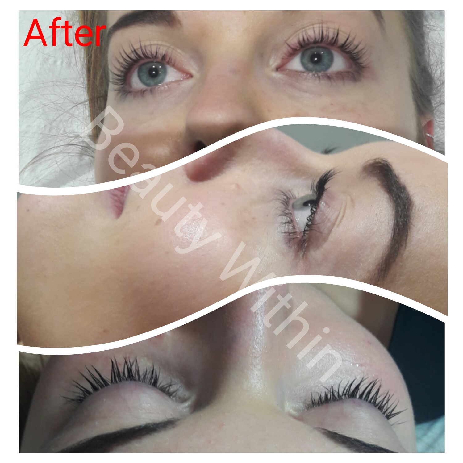after lvl lashes
